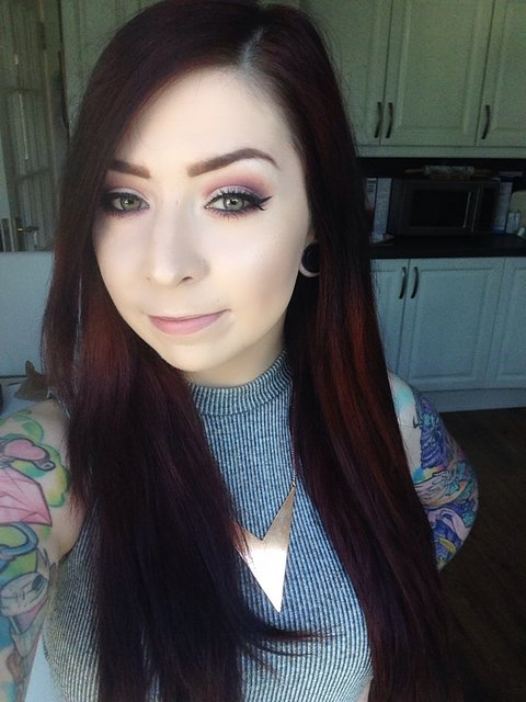 Irish beauty blog blogger the rebel lipstick the glamour nazi dani tattoos makeup mua makeup artist