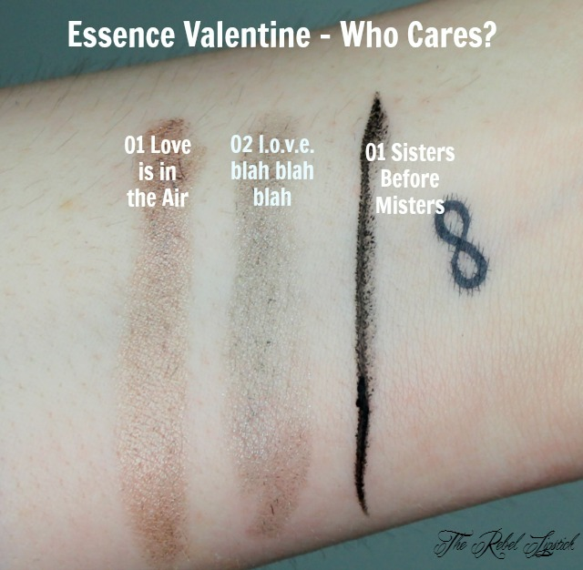 Essence Valentine - Who Cares Collection Spring 2016 Swatches