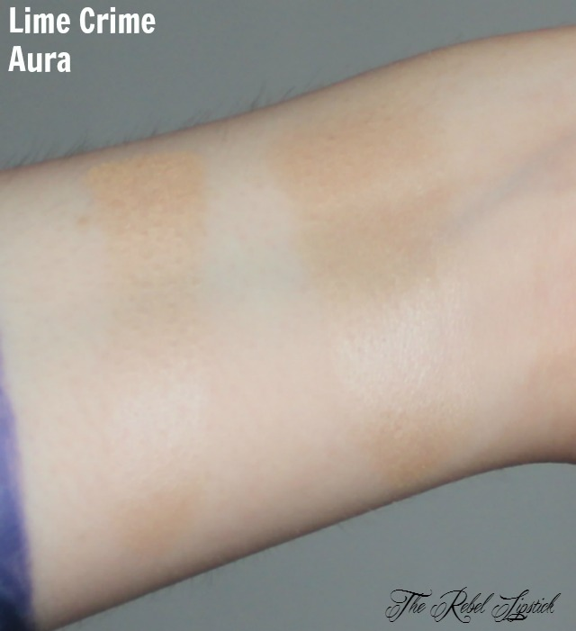 Lime Crime Aura Swatch