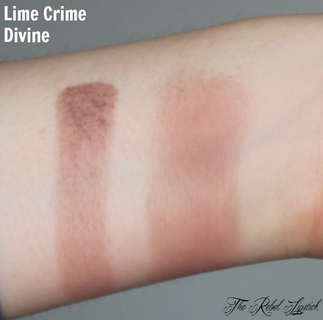 Lime Crime Divine Swatch