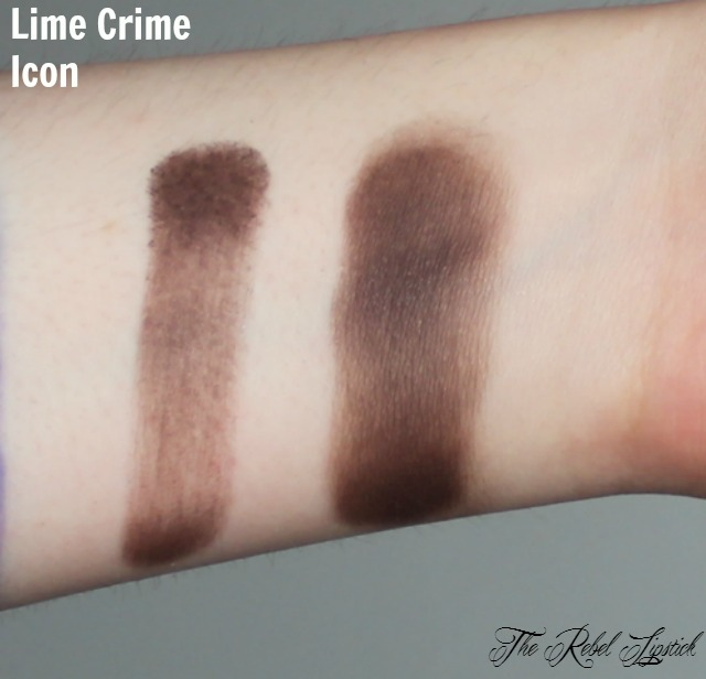 Lime Crime Icon Swatch