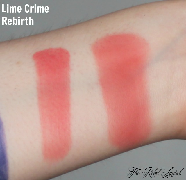Lime Crime Rebirth Swatch