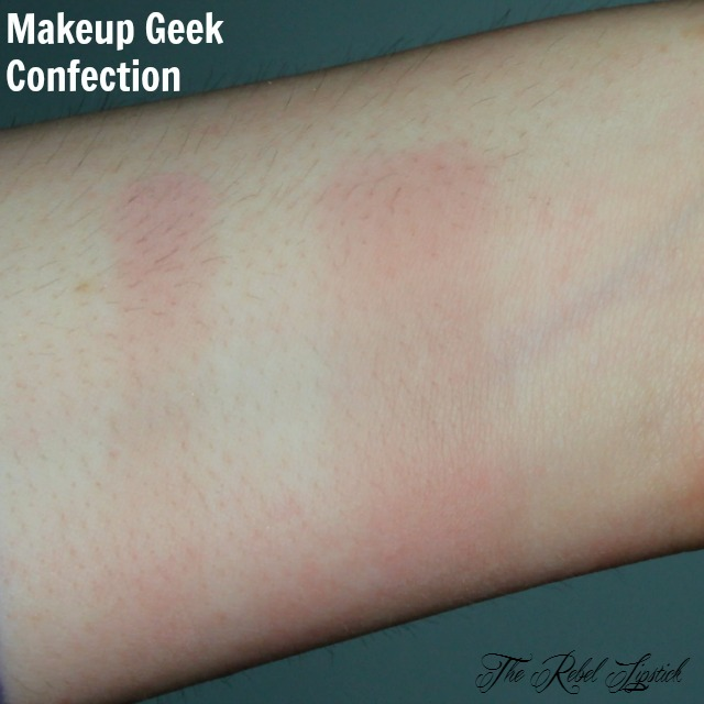 Makeup Geek Eyeshadow Confection Swatch