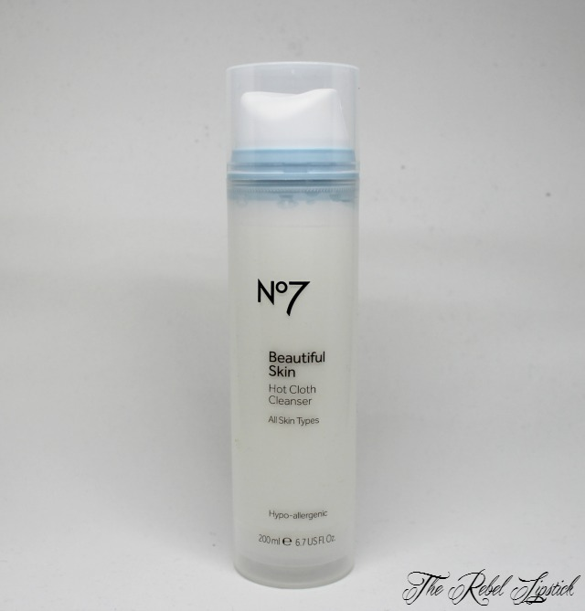 Boots No7 Beautiful Skin Hot Cloth Cleanser All Skin Types The Rebel Lipstick The Glamour Nazi Irish Beauty Blog Blogger Photo Swatch Swatches Photos Ireland