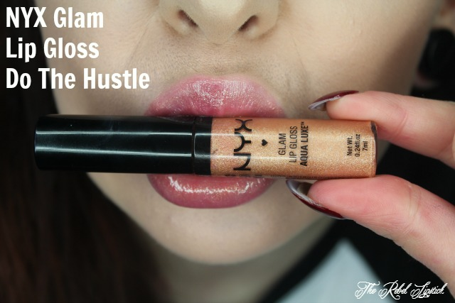 NYX Glam Lip Gloss Aqua Luxe 02 Do The Hustle