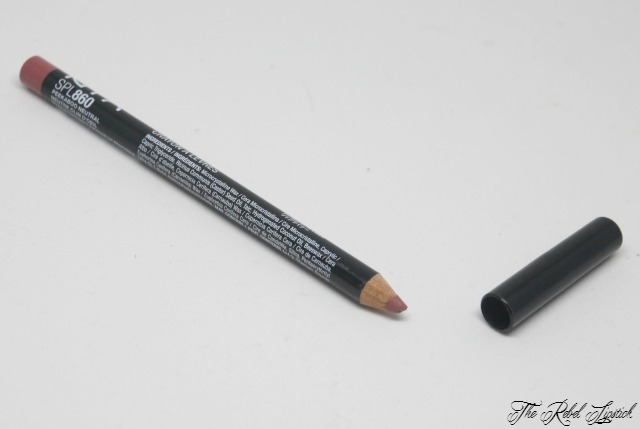 NYX Slim Lip Pencil 860 Peekaboo Neutral The Rebel Lipstick The Glamour Nazi Irish Beauty Blog Blogger Photo Swatch Swatches Photos