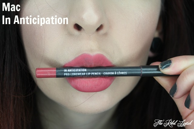 Mac In Anticipation Swatch