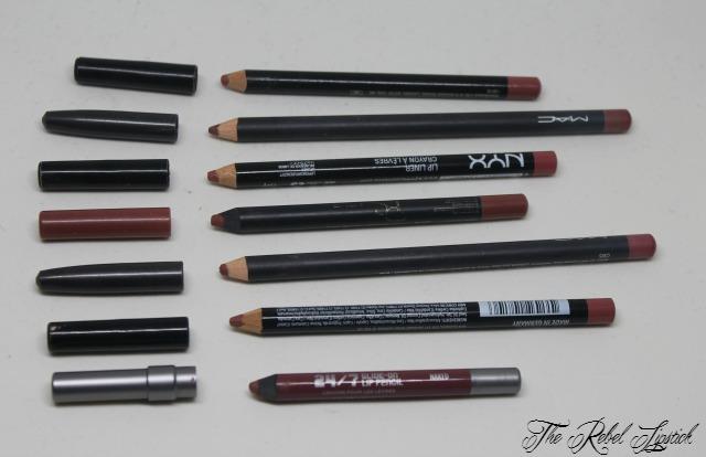 Nude Pink Lip Pencils