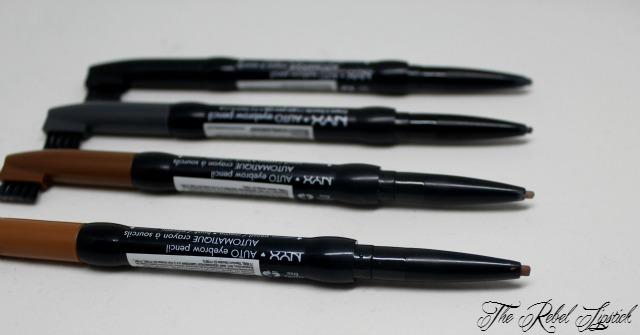 NYX Auto Eyebrow Pencil Close Up