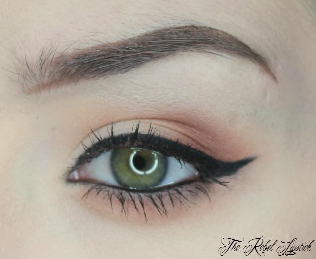 NYX Eyebrow Gel Swatch