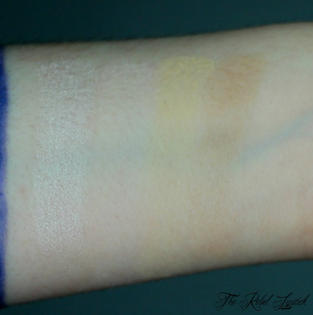 NYX Highlight and Contour Pro Palette Highlight Swatches