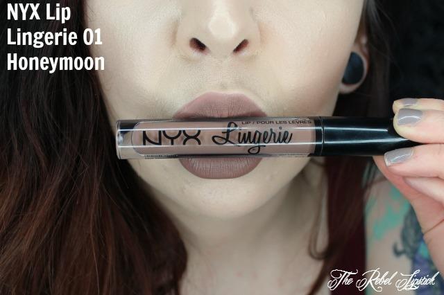 NYX Lip Lingerie 01 Honeymoon Lips