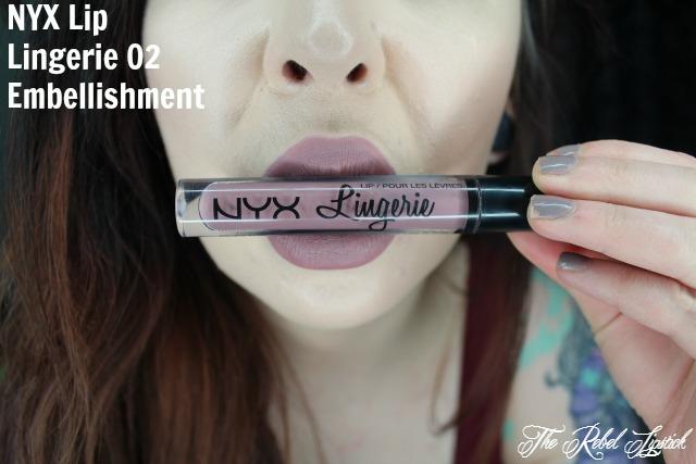 NYX Lip Lingerie 02 Embellishment Lips