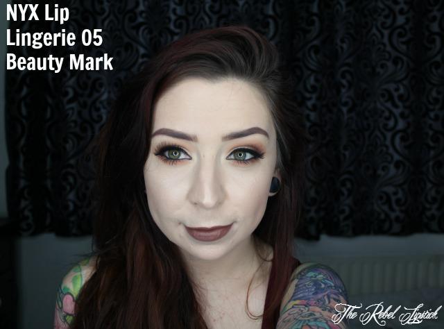 NYX Lip Lingerie 05 Beauty Mark Full Face