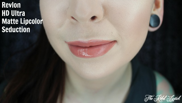 Revlon Ultra HD Matte Lipcolor Seduction Lip Swatch