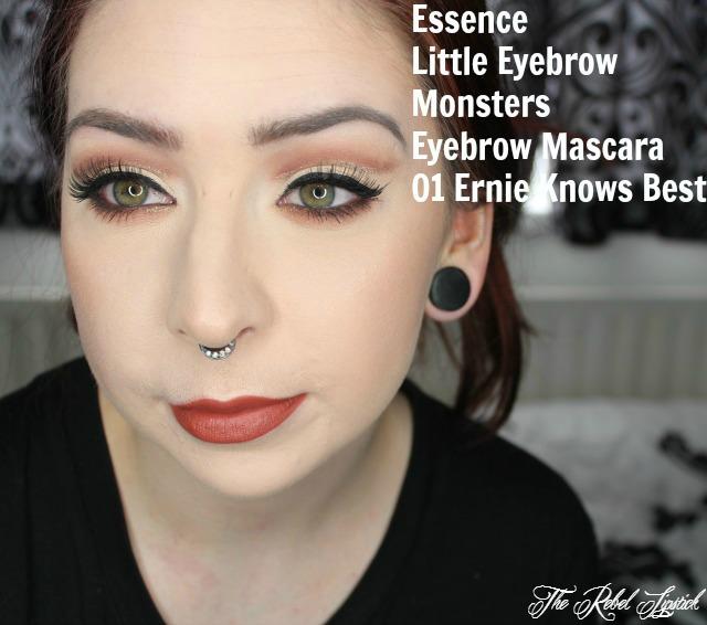 Essence Little Eyebrow Monsters Eyebrow Mascara 01 Ernie Knows Best