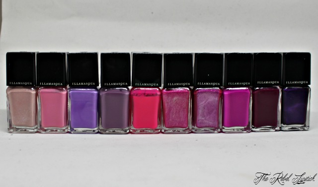 Illamasqua Nail Varnish Collection Pinks Purples