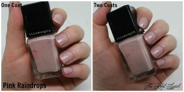 Illamasqua Nail Varnish Pink Raindrops