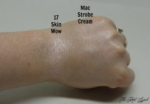 Dupe or Poop Mac Strobe Cream Versus 17 Skin Wow Swatch