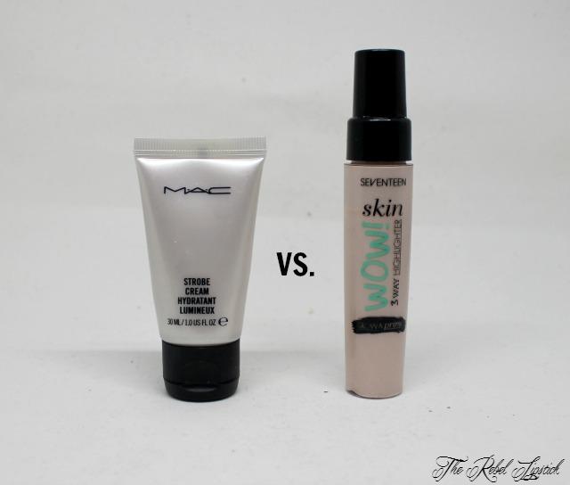 Dupe or Poop Mac Strobe Cream Versus 17 Skin Wow