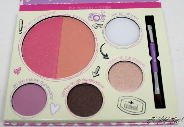 Essence Touch Up To Go! Palette Shadows