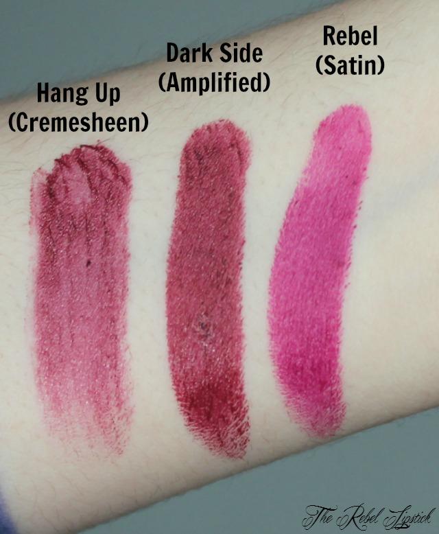 Mac Lipstick Swatches Purples