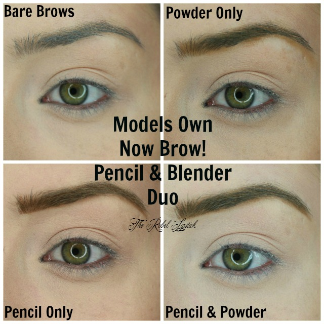 Models Own Brow Now Pencil and Powder