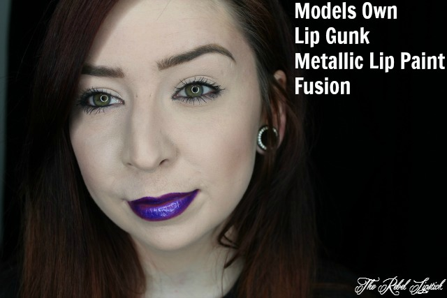 Models Own Lip Gunk Lip Paint Kit Fusion Full Face