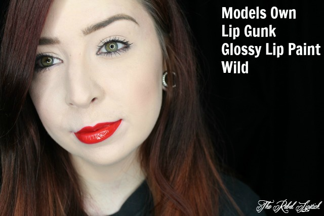 Models Own Lip Gunk Lip Paint Kit Wild Full Face