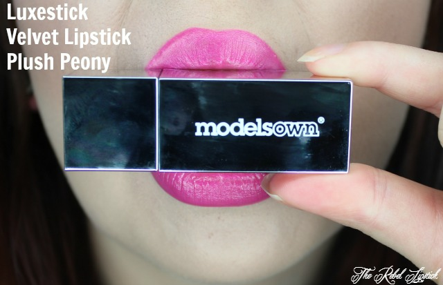 Models Own Luxestick Velvet Lipstick Plush Peony Lips