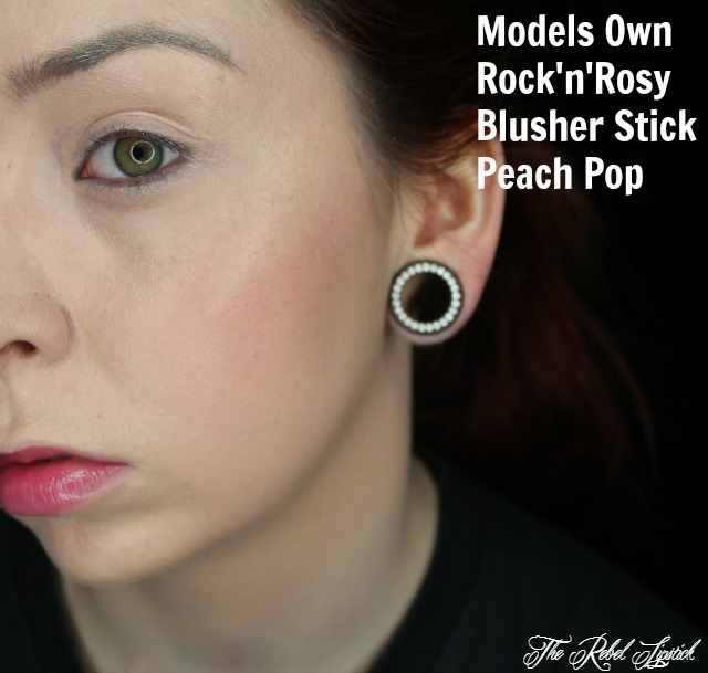 Models Own Rock'n'Rosy Blusher Stick Peach Pop