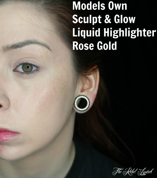 Models Own Sculpt & Glow Liquid Highlighter Rose Gold