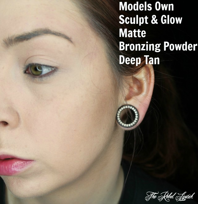 Models Own Sculpt & Glow Matte Bronzing Powder Deep Tan