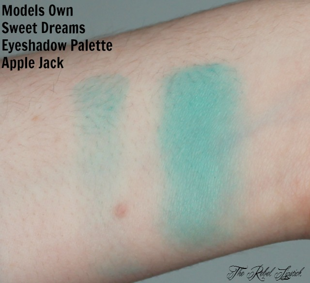 Models Own Sweet Dreams Eyeshadow Palette Apple Jack Swatch