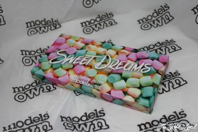 Models Own Sweet Dreams Eyeshadow Palette Box