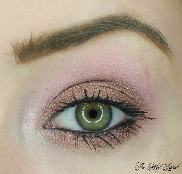 Models Own Sweet Dreams Eyeshadow Palette Look 3