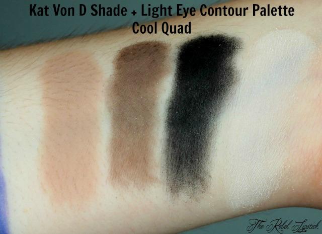 Kat Von D Shade + Light Eye Contour Palette Cool Quad