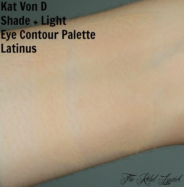 Kat Von D Shade + Light Eye Contour Palette Latinus