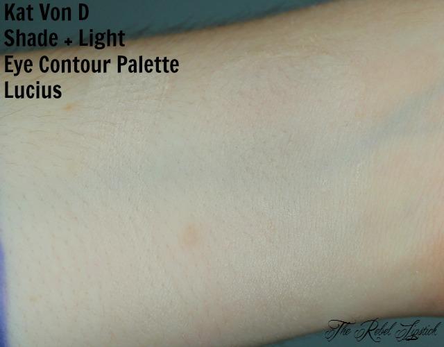 Kat Von D Shade + Light Eye Contour Palette Lucius