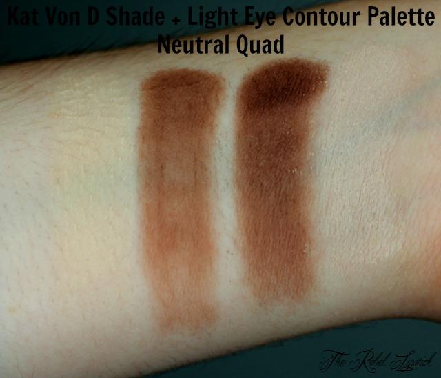 Kat Von D Shade + Light Eye Contour Palette Neutral Quad