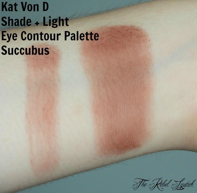 Kat Von D Shade + Light Eye Contour Palette Succubus