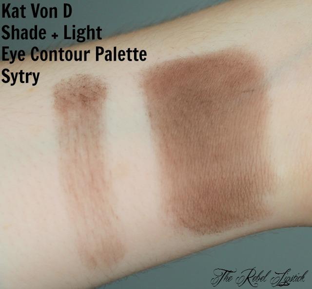 Kat Von D Shade + Light Eye Contour Palette Sytry