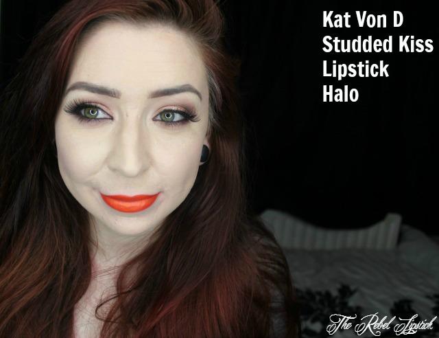 Kat Von D Studded Kiss Lipstick Halo Full Face