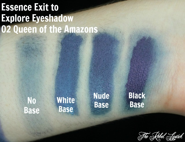 Essence Exit to Explore Trend Edition Eyeshadow 02 Queen of the Amazons Swatches