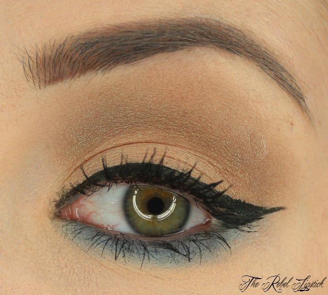 Essence Exit to Explore Trend Edition Eyeshadow on eye