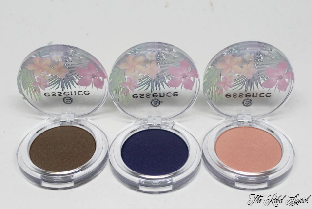 Essence Exit to Explore Trend Edition Eyeshadows Close Up
