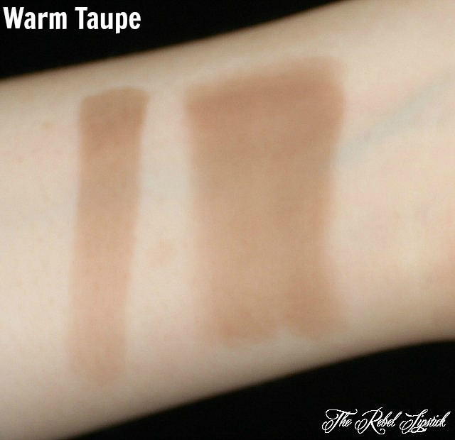 Warm Taupe Swatches