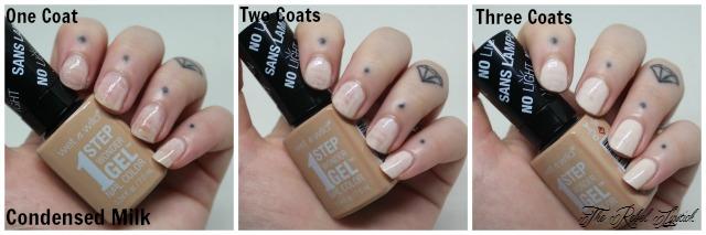 Wet n Wild 1 Step Wonder Gel Nail Color Condensed Milk