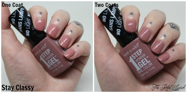 Wet n Wild 1 Step Wonder Gel Nail Color Stay Classy