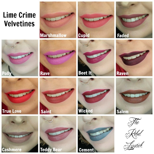 lime-crime-velvetines-collection